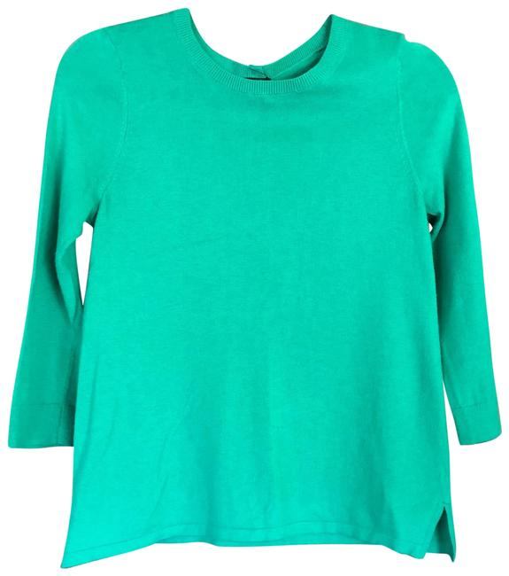 Preload https://img-static.tradesy.com/item/23256277/ann-taylor-57421-teal-sweater-0-1-650-650.jpg