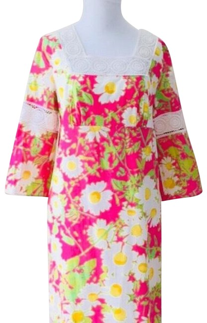 Lilly Pulitzer short dress Pink, Yellow and Green on Tradesy
