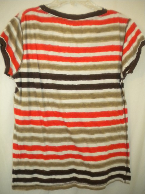 Rue 21 V-neck Sleeve Cotton T Shirt Multi-Color