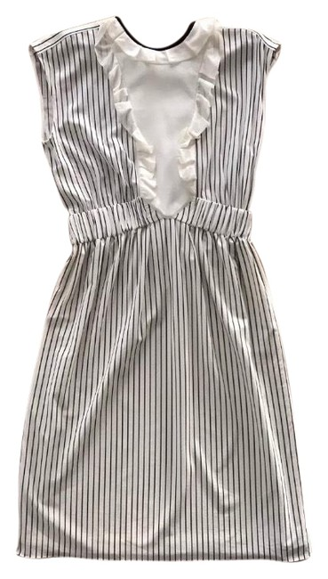 Preload https://img-static.tradesy.com/item/23256418/louis-vuitton-white-and-black-ruffle-striped-mid-length-cocktail-dress-size-4-s-0-1-650-650.jpg