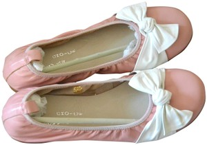 Irregular Choice Girlish Bow Ballet Casual pink Flats