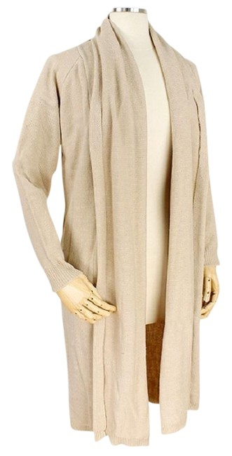 Preload https://img-static.tradesy.com/item/23256513/beige-soft-knit-long-draped-sweater-duster-cardigan-size-os-one-size-0-1-650-650.jpg