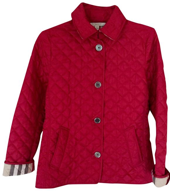 Item - Red Copford Quilt Jacket Size 8 (M)