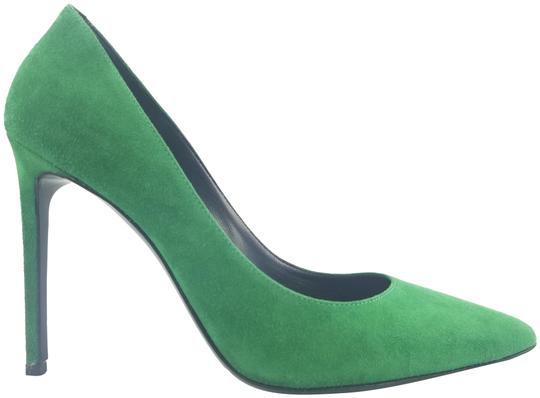 Preload https://img-static.tradesy.com/item/23256529/saint-laurent-green-suede-pointed-toe-pumps-size-eu-38-approx-us-8-regular-m-b-0-3-540-540.jpg