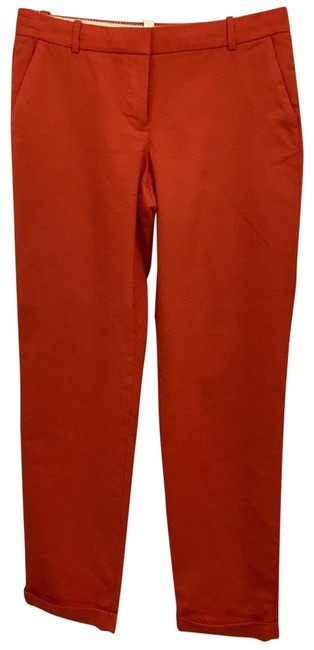Preload https://img-static.tradesy.com/item/23256578/jcrew-orange-wool-t-capricropped-pants-size-4-s-27-0-1-650-650.jpg