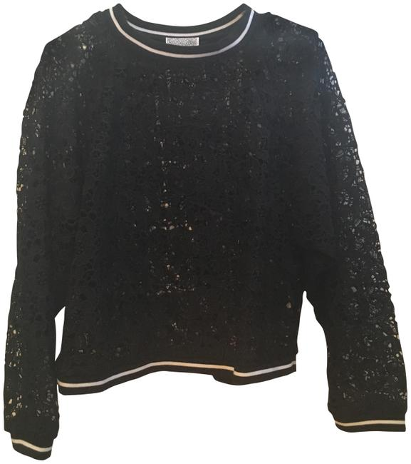 Preload https://img-static.tradesy.com/item/23256608/lucca-couture-lace-black-sweater-0-2-650-650.jpg