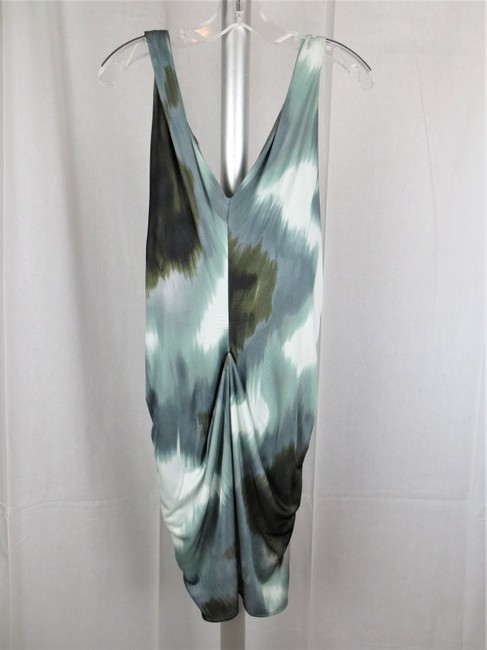 Diane von Furstenberg short dress Green Dvf Wrap Wrap Milton Abstract on Tradesy