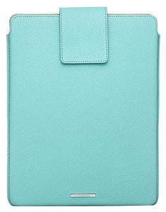 Tiffany & Co. Tiffany & Co Blue Leather Tablet iPad Cover Case