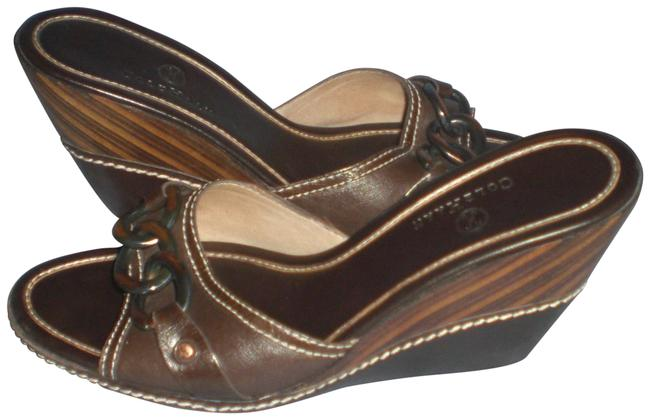 Item - Brown Nike Air Sandals with Rings Wedges Size US 8.5 Regular (M, B)