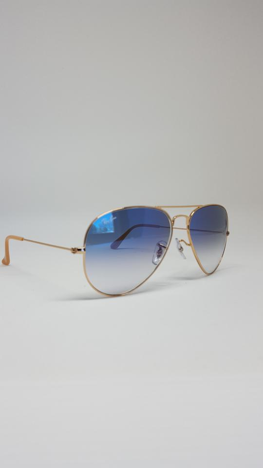 Ray-Ban Light Blue Gold Frame/Light Gradient Lens Rb3025 001/3f ...