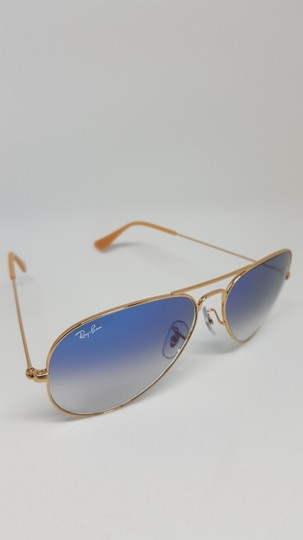 4a0874b0384b Ray-Ban Light Blue Gold Frame Light Gradient Lens Rb3025 001 3f ...