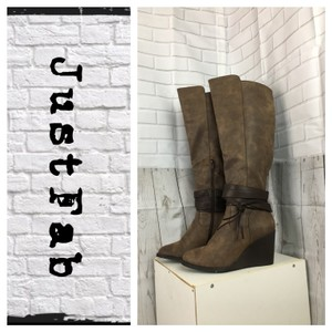 JustFab Brown Boots