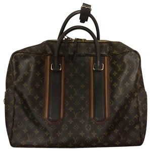 0266eeb4cb23 Louis Vuitton Carryall Tobago Navy Leather Weekend Travel Bag - Tradesy
