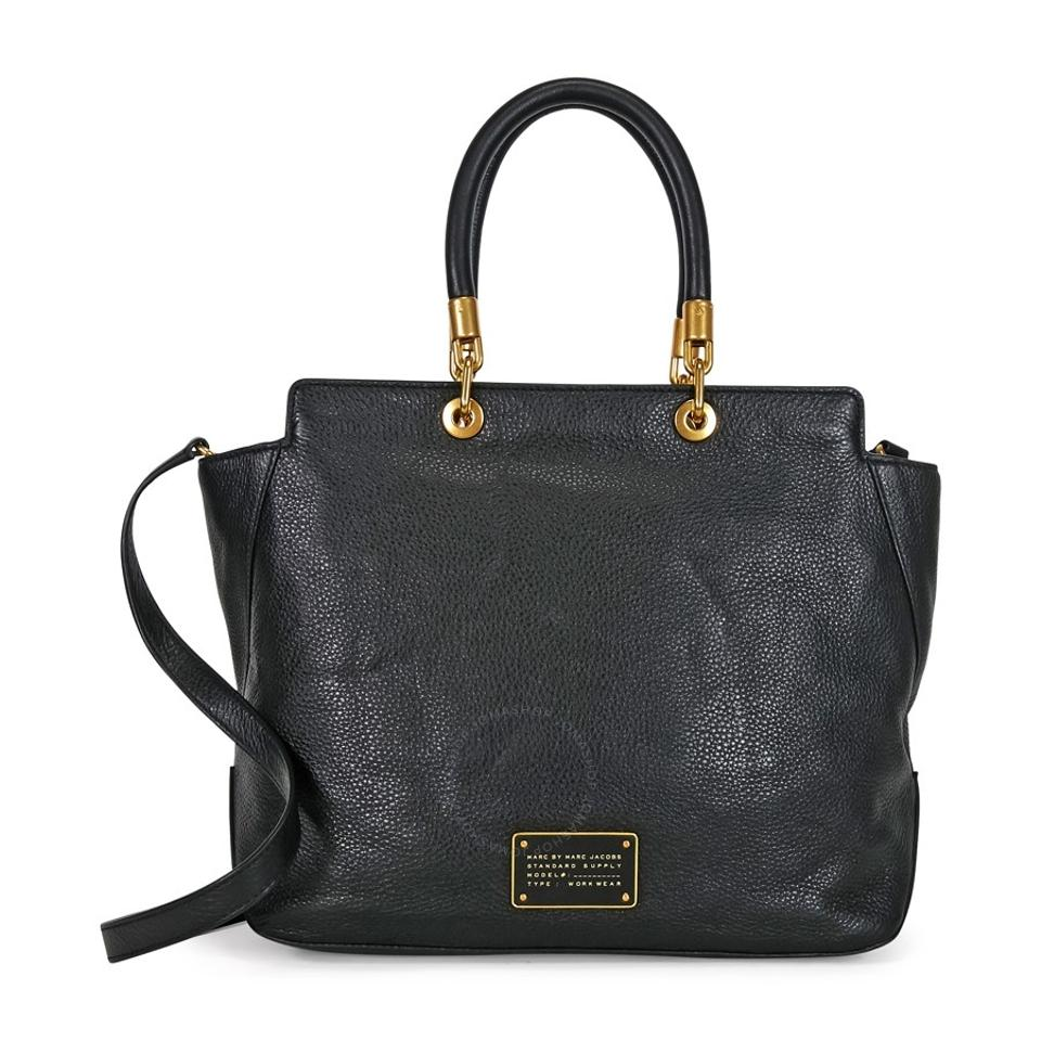 529eb727c0 Marc by Marc Jacobs Too Hot To Handle Bentley Black Leather Tote ...