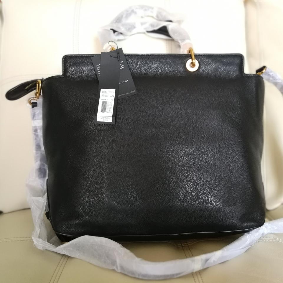 Handle Bentley Black Marc Tote Hot Jacobs Too Leather To by Marc wgYqwF1
