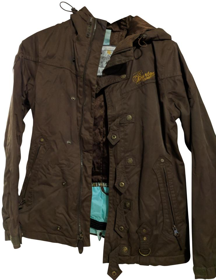 0023708de1a Burton Brown Coat Size 4 (S) - Tradesy