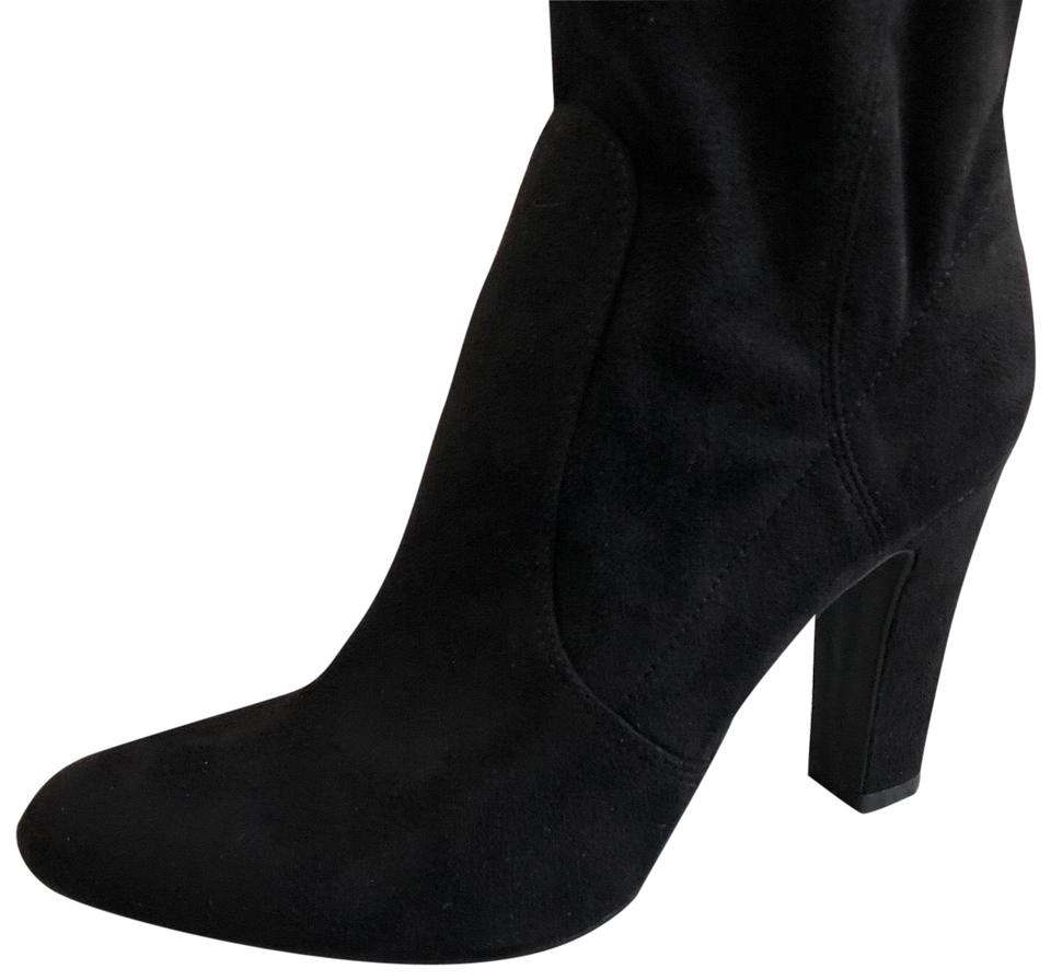 62864041481a5c Unisa Black Sanyia-t Suede Boots Booties Size US 8.5 Regular (M