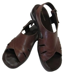 Naturalizer Leather Size 7.50 M Good Condition brown Sandals