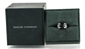 David Yurman David Yurman Onyx Diamond Ring