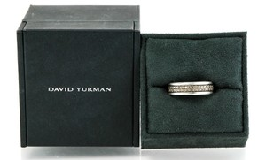 David Yurman Streamline Two-Row Band Ring with Cognac Diamonds