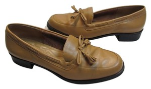 Rockport Leather Size 9 Medium TAN Flats