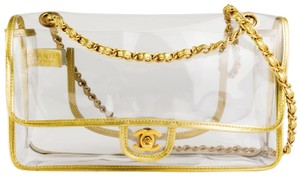Chanel Transparent Spring 2018 Vintage Shoulder Bag