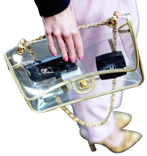 Chanel Transparent Spring 2018 Vintage Shoulder Bag Image 1