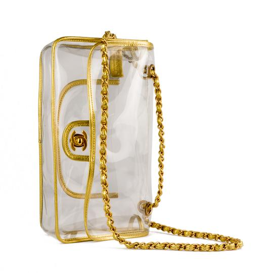 Chanel Transparent Spring 2018 Vintage Shoulder Bag Image 3