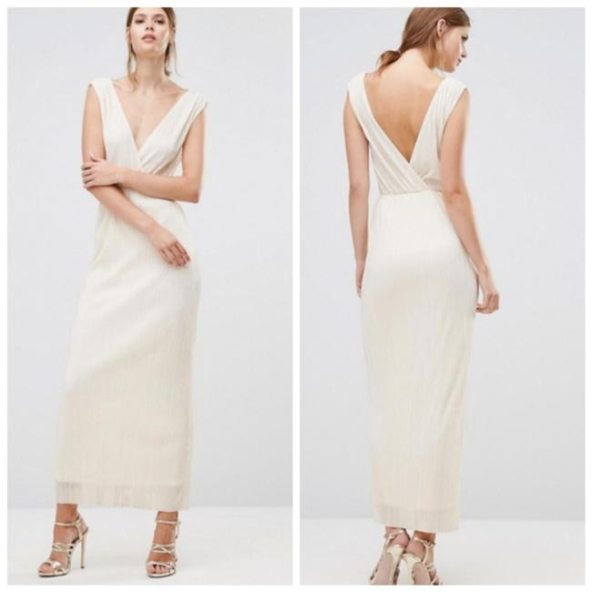Ivory Maxi Dress by Oh My Love Image 4