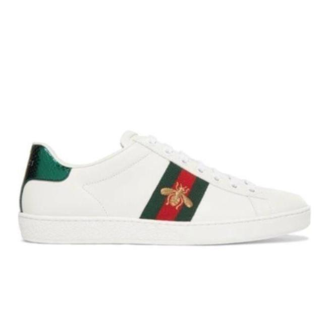 Gucci White Ace Water Snake Bee Embroidered Leather Sneakers Size EU 35 (Approx. US 5) Regular (M, B) Gucci White Ace Water Snake Bee Embroidered Leather Sneakers Size EU 35 (Approx. US 5) Regular (M, B) Image 1