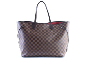 Louis Vuitton Neverfull Gm Large Neverfull Big Neverfull Neverfull Neverfull Sale Tote in Brown