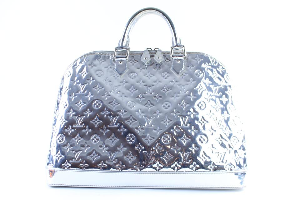 533fbbaadd Louis Vuitton Voyage Extra Large Keepall Limited Edition Mirror Silver  Travel Bag Image 0 ...