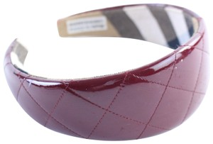 Burberry Quilted Patent Headband 21BUR0424