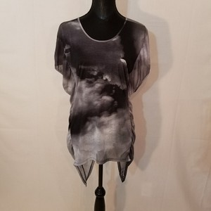Torn by Ronny Kobo Top Black/Gray
