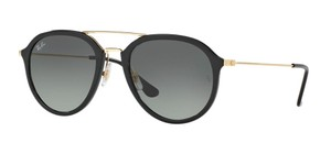 Ray-Ban NEW Petite Aviator - RB 4253 601/71 Gorgeous Plastic Front aviator