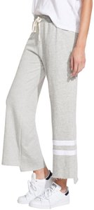 Sundry Stripes Cropped Flare Sweatpants - Size Small (1)