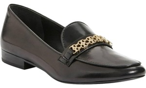 Tory Burch Leather Loafer Work Black Flats