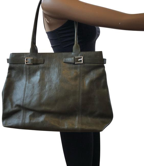 Item - Olive Green Leather Tote
