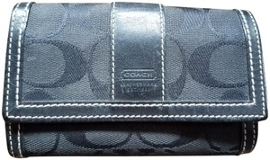 Coach Coach signature wallet color black
