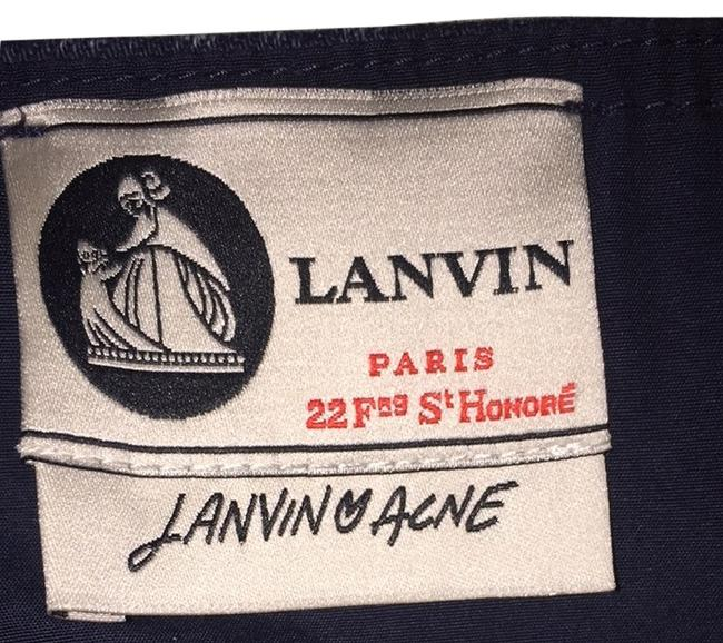 Lanvin short dress Denim Dark Blue on Tradesy
