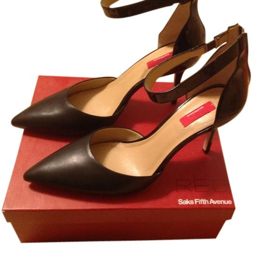 Preload https://item1.tradesy.com/images/saks-fifth-avenue-black-leatherpatent-leather-sr-aaron-ave-red-pumps-size-us-10-regular-m-b-2326120-0-0.jpg?width=440&height=440