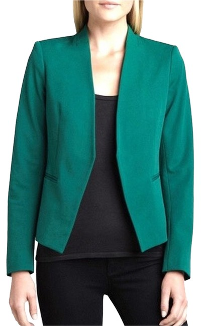Preload https://item4.tradesy.com/images/theory-green-lanai-blazer-size-4-s-2326128-0-0.jpg?width=400&height=650