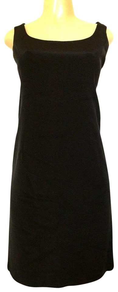 eed308a15f3 Teri Jon short dress black Silk Sleeveless Sheath on Tradesy Image 0 ...