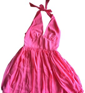 BB Dakota short dress pink Halter on Tradesy