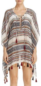 Becca by Rebecca Virtue Becca by Rebecca Virtue Women's Shoreline Tunic Poncho Swim Cover Up