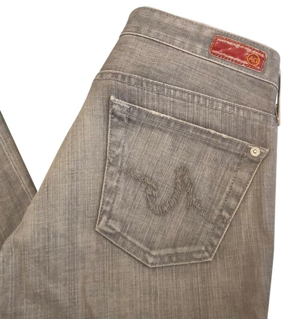 AG Adriano Goldschmied Grey Straight Leg Jeans Size 8 (M, 29, 30) AG Adriano Goldschmied Grey Straight Leg Jeans Size 8 (M, 29, 30) Image 1