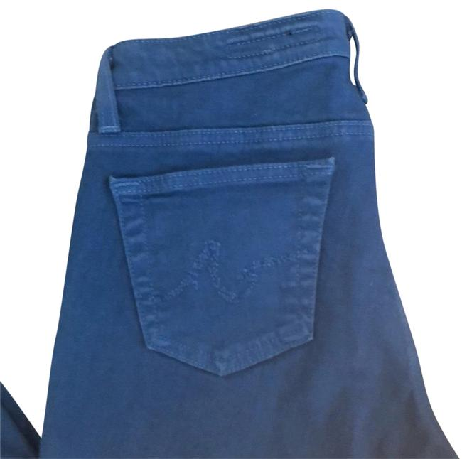 AG Adriano Goldschmied Blue Straight Leg Jeans Size 8 (M, 29, 30) AG Adriano Goldschmied Blue Straight Leg Jeans Size 8 (M, 29, 30) Image 1