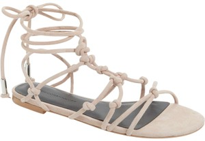 Rebecca Minkoff Lace-up Nude Sandals