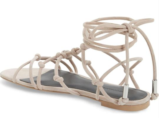 Rebecca Minkoff Lace-up Nude Sandals Image 1