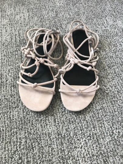 Rebecca Minkoff Lace-up Nude Sandals Image 9
